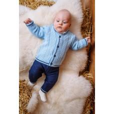 Комплект дитячий Светр+штани 0742 Блакитно-синій