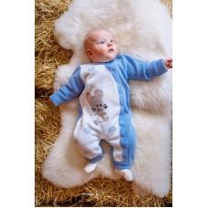 Комбінезон дитячий Блакитний 0844