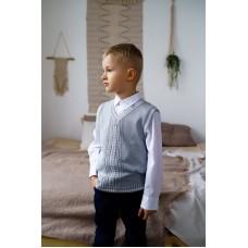 Жилет дитячий Сірий 0713