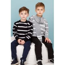 Комплект дитячий  - джемпер + шарф 1258
