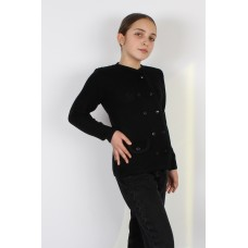 Жакет дитячий 0751 Чорний