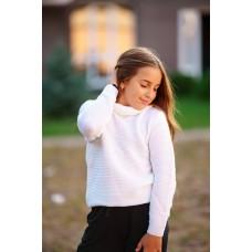 Джемпер дитячий Білий  0788