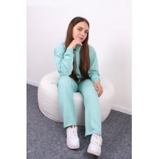 Костюм дитячий штани + худі Ментол 1301