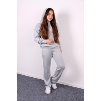 Костюм дитячий штани + худі Сірий 1301