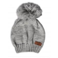 Демісезонна шапка Сіра 0804