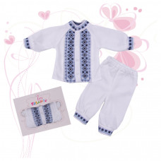 Комплект дитячий джемпер + штани Вишиванка 1234